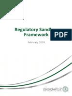 Regulatory Sandbox Framework En
