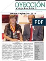 Periódico Proyección octubre 2010