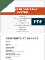 Online blood bank System