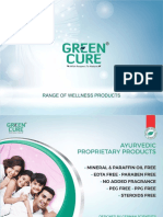 Green Cure Sales Tool