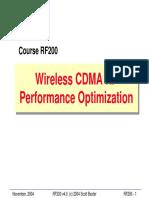 CDMA Optimization