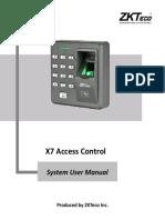 X7 User Manual