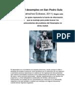 El desempleo en San Pedro Sula.docx