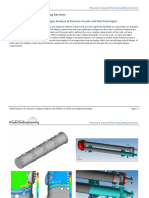 Pressure Vessel Fea Consulting Services - Asme Section Viii Division 2 Fatigue Analysis