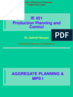 Lecture 10 AGGREGATE PLANNIING  MPS I.ppt