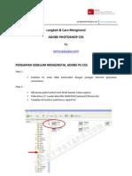 Installasi Adobe Photoshop CS5 Full Version