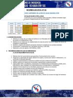 Reporte Nº 126 Situacion de Riesgo Sanitarios en La Red de Salud Huaura Oyon