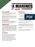 Space Marines Opus CA v1.1