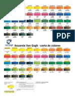 -Carta Color Van Gogh Bilingue