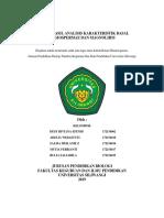 RESUME HASIL ANALISIS KARAKTERISTIK BASAL ANGIOSPERMAE DAN MAGNOLIIDS KELOMPOK 3_2B.docx