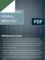 Tajuk 4 Sosialisasi Moral Individu