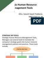 SHR tools