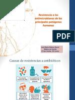 Resistencia Antibioticos Residentes Marzo 2017