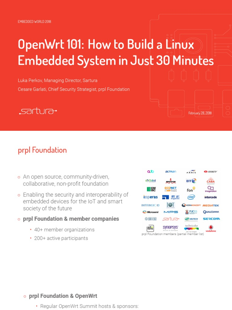 Openwrt101 Build Embedded Systems in 30 Minutes | File System