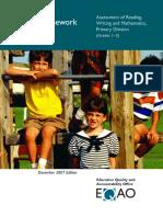 Framework Primary Division