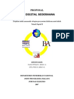 Jam Digital Sederhana