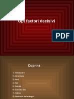 Factor i Decisi Vi