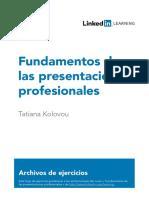 Fundamentos de las presentaciones profesionales