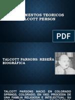 Fundamentos Teoricos Talcott Person