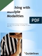 Legazpi Firth- Multiple Modality Instruction
