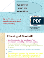 Goodwill and its valuation.pptx