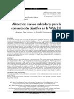 Altmetrics Nuevos indicadores para la comunicacion cientifica en la Web 2.0.pdf