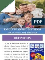 family planning methods ppt