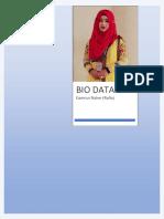 Bio Data Kamrun Naher Rafia Original