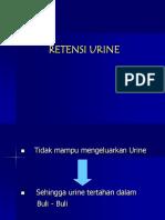 Retensi Urine