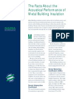NAIMA _ Facts about Metal Building Acoustic Insulation