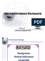 SIG - Pertemuan 4 - Komponen Dasar GIS