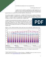 A vantagem de Dilma nas intenções de voto no segundo turno