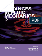 Advances in b Fluid b Mechanics