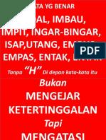 Bahasa Benar