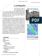 2009 L'Aquila Earthquake - Wikipedia