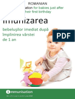 Immunisation for Babies Just After First Birthday_Romanian_FINAL