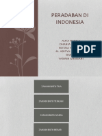 Peradaban Di Indonesia