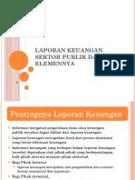 Laporan Keuangan Sektor Publik Dan Elemennya