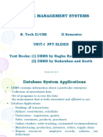 dbms unit-I ppt