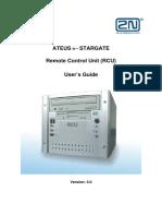 RCU User's Guide 3 0