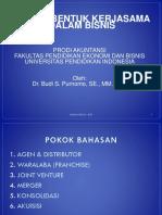 7 Bentuk2 Kerjasama dalm Bisnis.pptx