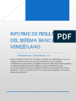 Informe resultados sistema financiero venezolano febrero 2019
