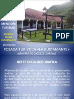 Proyecto Posada Turistica Bustmante