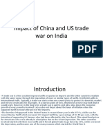 Impact of China and US trade war on GA 1.pptx