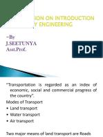 basic introduction and geometric design of railways