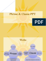 Phrase Clause