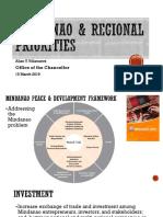 Mindanao & Regional Prioritiehs Avv