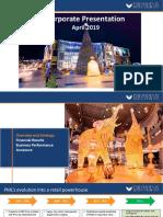 The Phoenix Mills Ltd Corporate Presentation April 2019.pdf