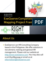 ExeQserve Competency Mapping Framework