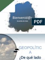 Geopolítica_De Qué Lado Del Mundo Estás.2019